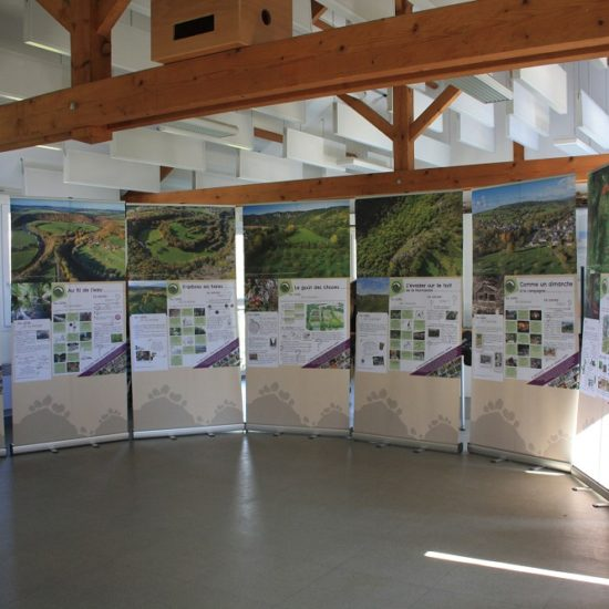 Exposition roll-up Suisse normande