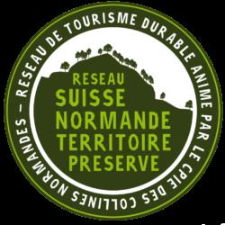 LOGO Suisse normande territoire preserve