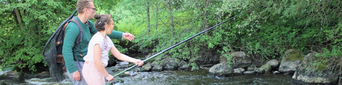 Sorties pêche sur les rivières de Suisse normande ©MJourdanCPIE61