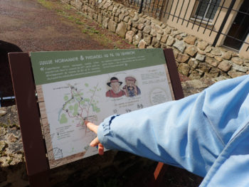 Un sentier pédagogique sur le Lembron